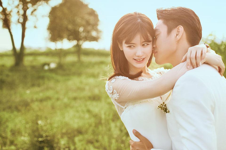 流行元素 婚纱照图片