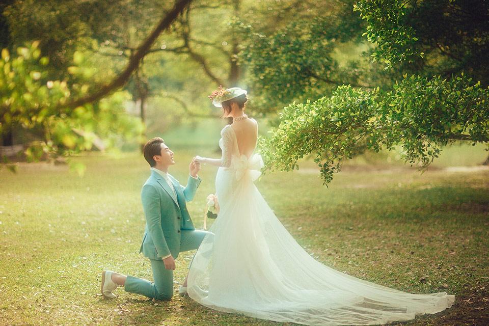 婚纱照 流行元素图片